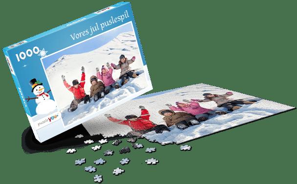 Puslespilæske – Jul I