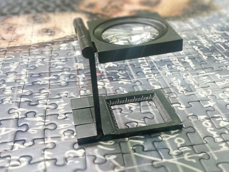 Fotopuzzle på digital udskrift