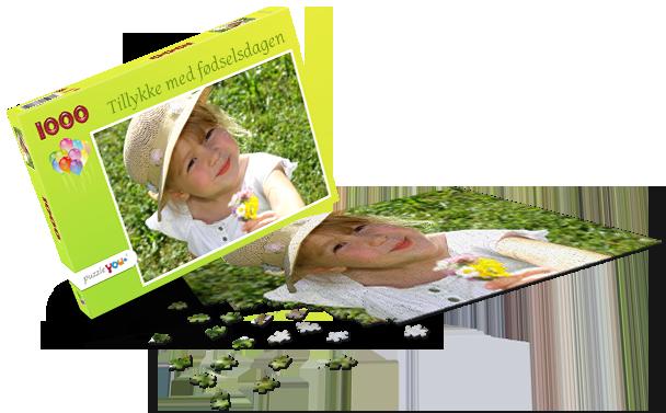 Puslespilæske – Børnefødselsdag