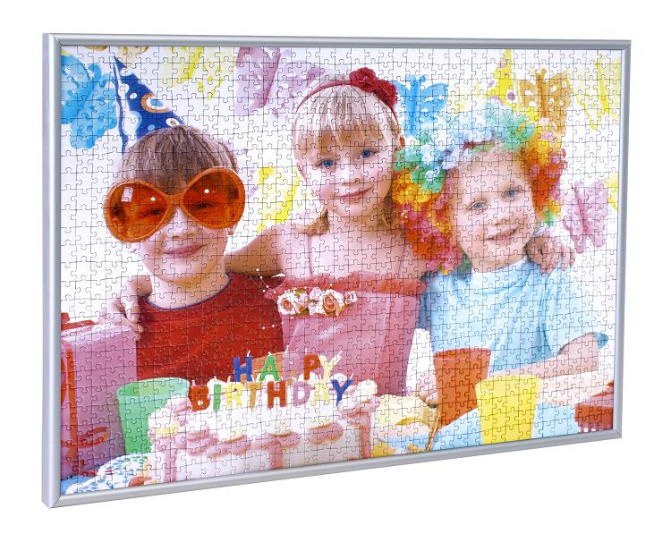 Ram din puslespil med vores puslespilramme