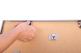 Instruktioner til puslespilramme, trin 5